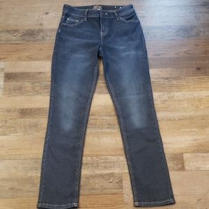 Justice mid rise skinny jeans size 16